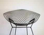 Vintage Mid Century Modern Bertoia Diamond Chair