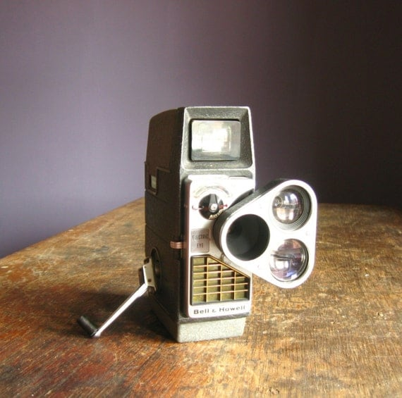 Vintage Bell and Howell Electric Eye .. 8mm Movie Camera