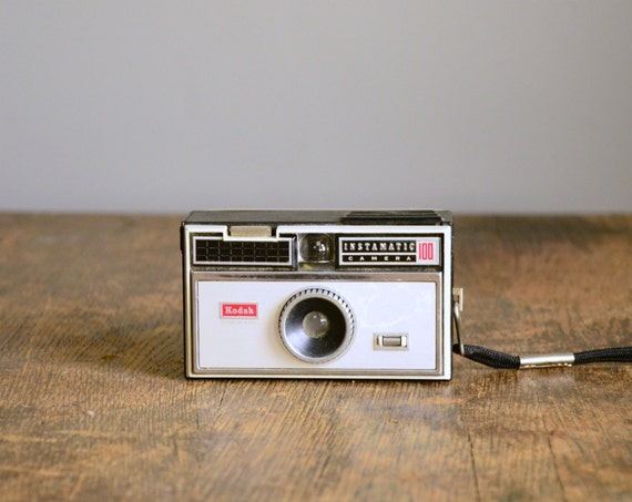Vintage Camera .. Kodak Instamatic 100