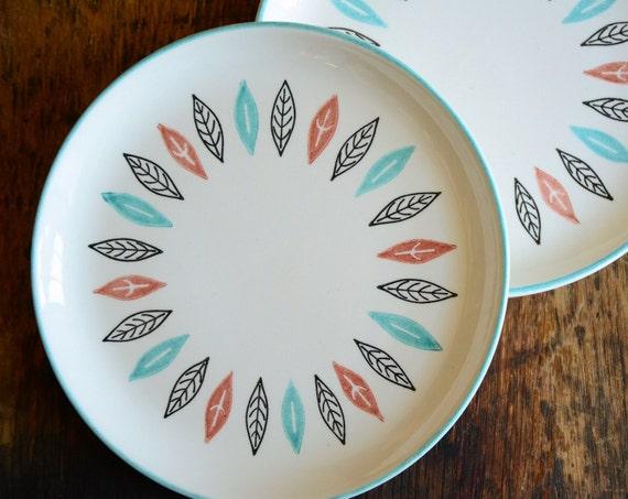 Vintage Marcrest Nordic Mint Dishware .. Dinnerware Place Setting