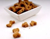 Dog Treat Mini Bites Perfect for Any Breed and Sized Dog-Dachshund to Great Dane --Peanut Butter Carrot Banana 4oz