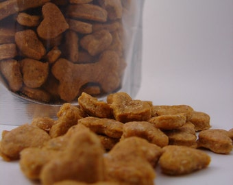 Pumpkin Apple Carrot Mini Bites - All Natural  Dog Treats - 4oz