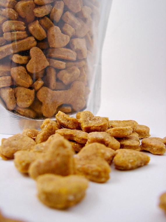All Natural Cat Treats--Pumpkin & Catnip Flavor With Cheddar--Gourmet Healthy 6oz