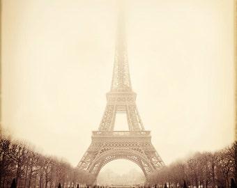 Eiffel Tower - Atmosphere Study -5x5 Fine Art Print - The Holga Suite