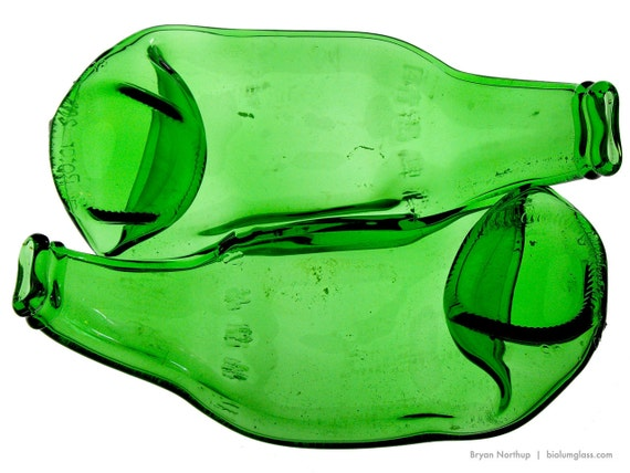Conjoined  Beer Bottle Dish