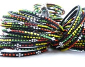 Out of Africa  Beaded Bangles Bundles of JOY - Tribal Trend