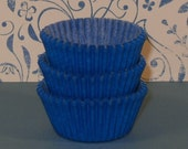 MINI Blue Cupcake Liner   (Qty 50)