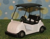 Golf Cart Cake Topper    (Diecast)