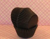 Black Licorice Cupcake Liners    (Qty 45)