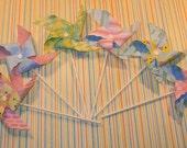 Baby Shower Whimsy Pinwheels  (12)