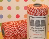 Mandarin Orange Bakers Twine from The Twinery  (240 Yd Roll)