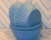 Lt. Blue Cupcake Liners  (45)