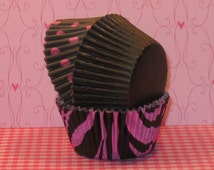 Pink Lilac Zebra Print Party Pack  (45)
