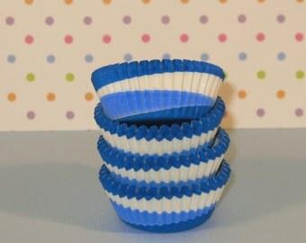 Mini Blue Topsy Turvy Liners   (Qty 50)
