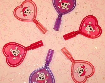 Princess Pirate Pencil Top Spinners  (12)