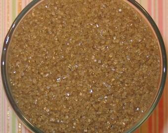 Elegant Gold Sanding Sugar (4 oz) Gold Sanding Sugar, Gold Dusting Sugar, Sanding Sugar, Gold Cupcake Sugar, Gold Cupcake Toppings