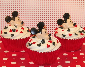 Mickey Mouse Ring Toppers  (12)