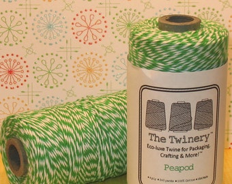 Peapod Green Bakers Twine From The Twinery  (240 Yd Roll)
