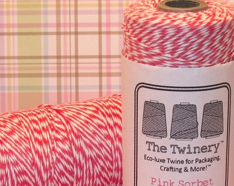 Pink Sorbet Bakers Twine from The Twinery - (240 Yd Roll)