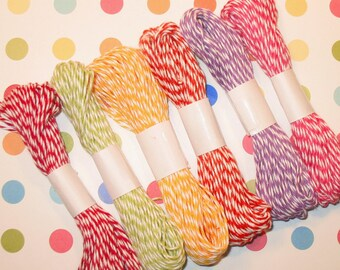 Tuity Fruity Bakers Twine from The Twinery
