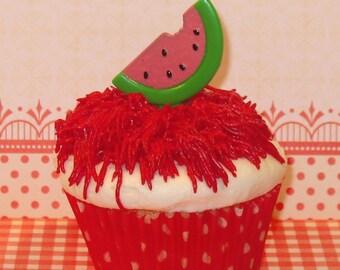 Vintage Inspired Sweet Watermelon Picks  (12)