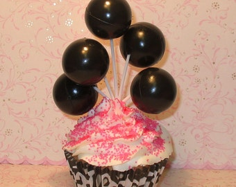 Large Black Balloon Clusters  (Set of 3)   DISCONTINUED