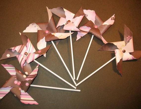 Chocolate Strawberry Pinwheels  (6)  LAST SET