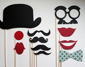 Photo Booth Props - Circus prop set.  Birthdays, Weddings, Parties - Photobooth Props