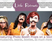 Custom Listing for amz5050 - Mustache and Pink Straw  Photo Prop. Candy Bar. Wedding Photo Prop - Set of Eight