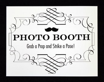Photo Booth Sign. Photo Booth Prop. Photobooth Prop. Photo Booth. Wedding Decor. Wedding Photos, Wedding Reception