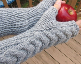 FINGERLESS - Bella's Mittens - Custom Knit