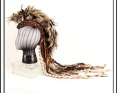 Natural McNaturalson.... Feather Headdress with Brown Trim - BubblesAndFrown