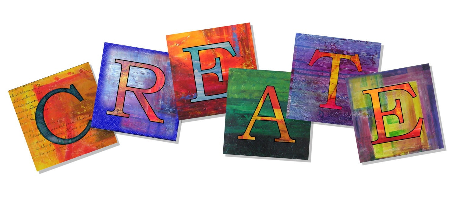 Word Art Design : Items similar to word art create with fine prints