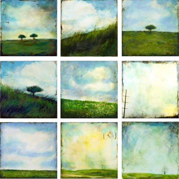 Landscapes - collection of 9