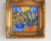 Sunflowers Still life Painting original acrylic