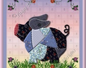 9 Country Quilt Design Note Cards - Set of any 9 -