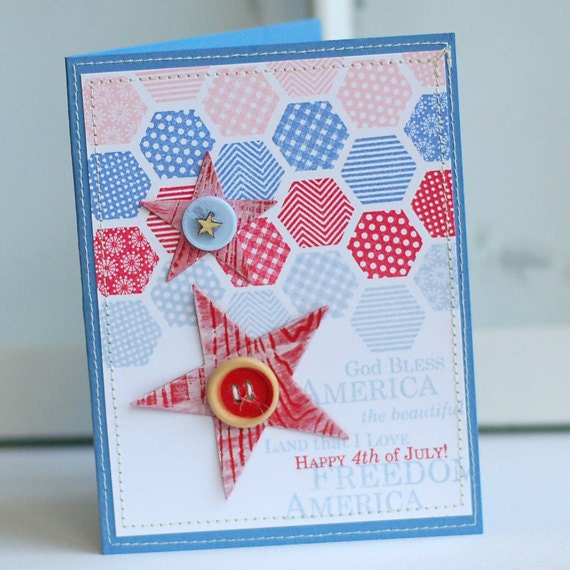items similar to patriotic patchwork handmade 4th of