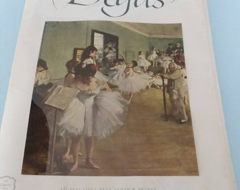 Degas Art Book with Removable Prints