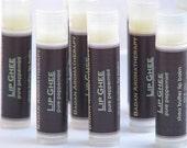 PEPPERMINT Lip Butter Organic Natural & Healing - Intensive Moisturizer for Dry Lips
