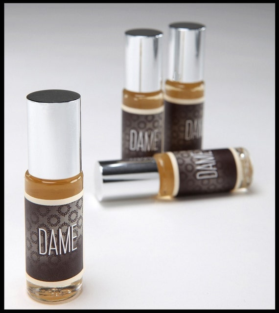 DAME...The Perfume Oil...A Sexy, Sultry Gardenia Creation