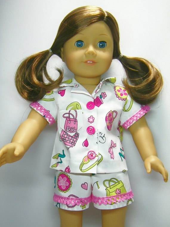 Summer pajamas for your American Girl Doll