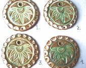 Reserve Item Lotus Pendant for Laura