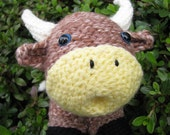 Crocheted Ox to Usher in the Lunar New Year
