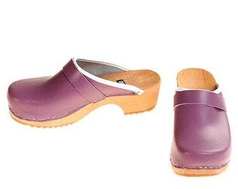 Clogs lilac