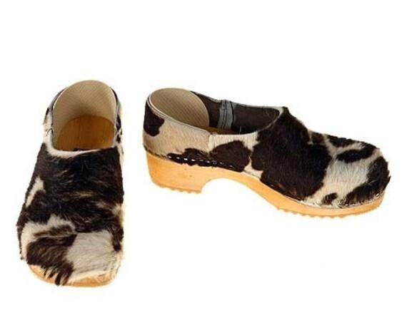 Cowhide Kap brown-white