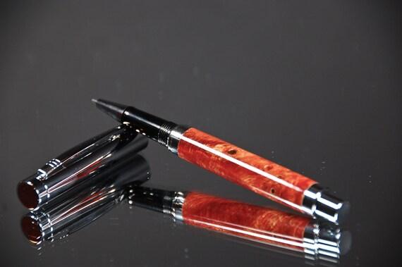 Modern Aussie Burl Rollerball Pen