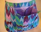 ON SALE - KOALA Caddie Knitting Bag Apron - Brandon Mably Casbah