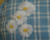 Popping Up Daisies.  Large spring floral sachet.