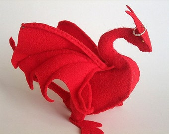 Camelot Dragon Plush PATTERN (PDF)