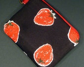 SALE 50% OFF Strawberries Pouch